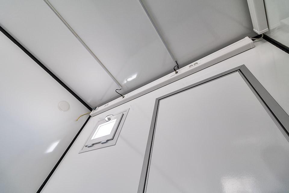 Flatpack hus lys