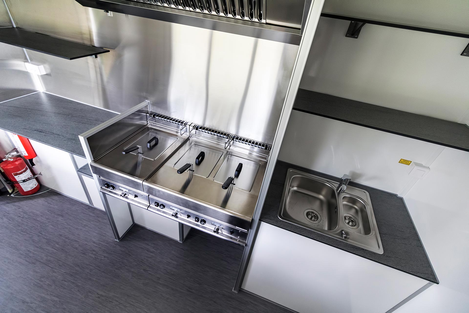Salgsvogn køkken