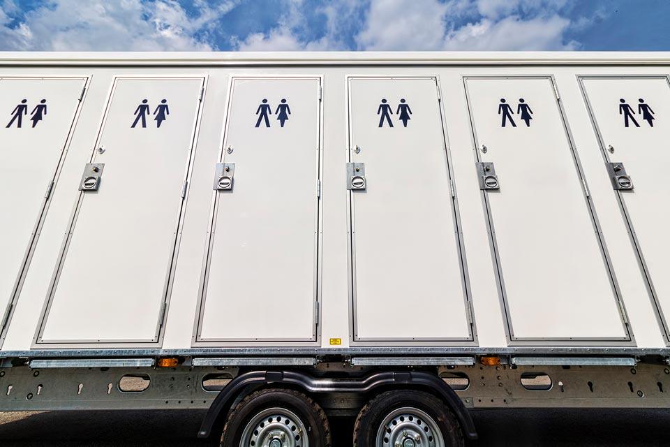 Toiletvogn 16 personer