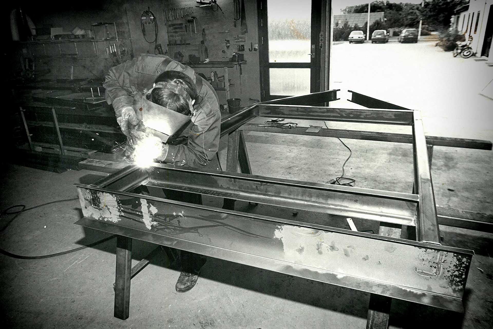 Svejsning af chassis