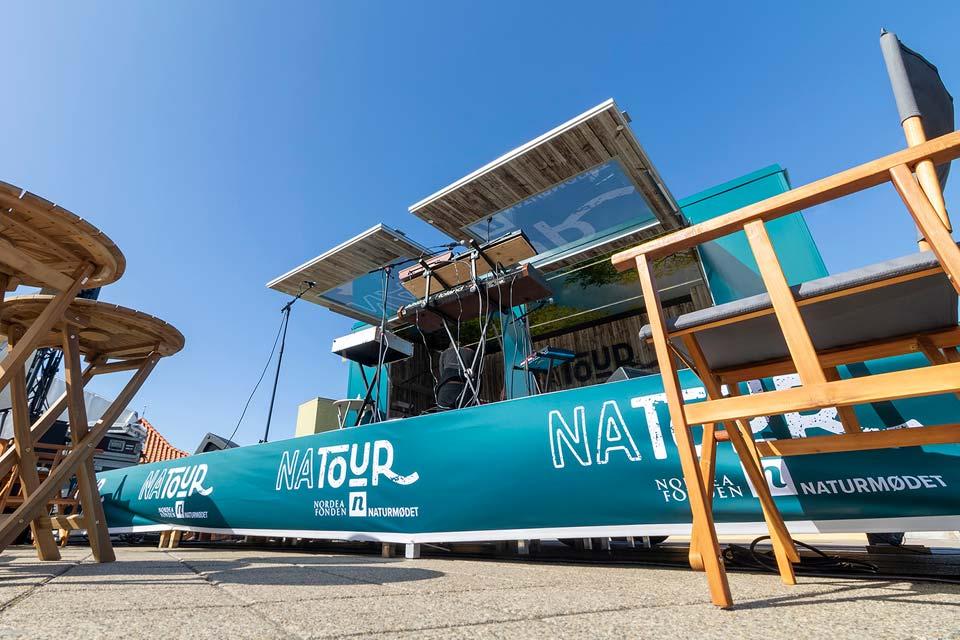 Udstillingsvogn til Natour