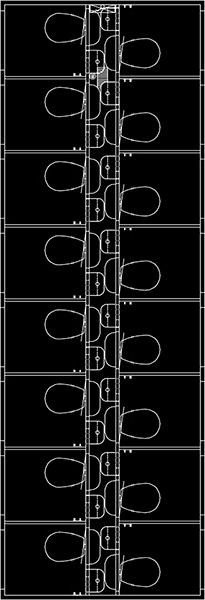 Toiletvogn tegning 16 personer