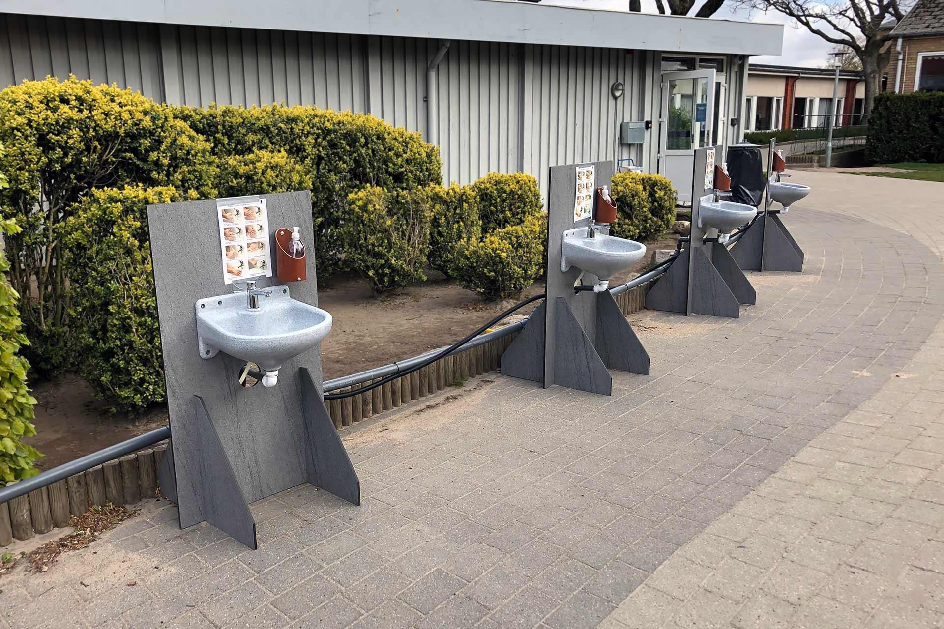 Mobile håndvaske