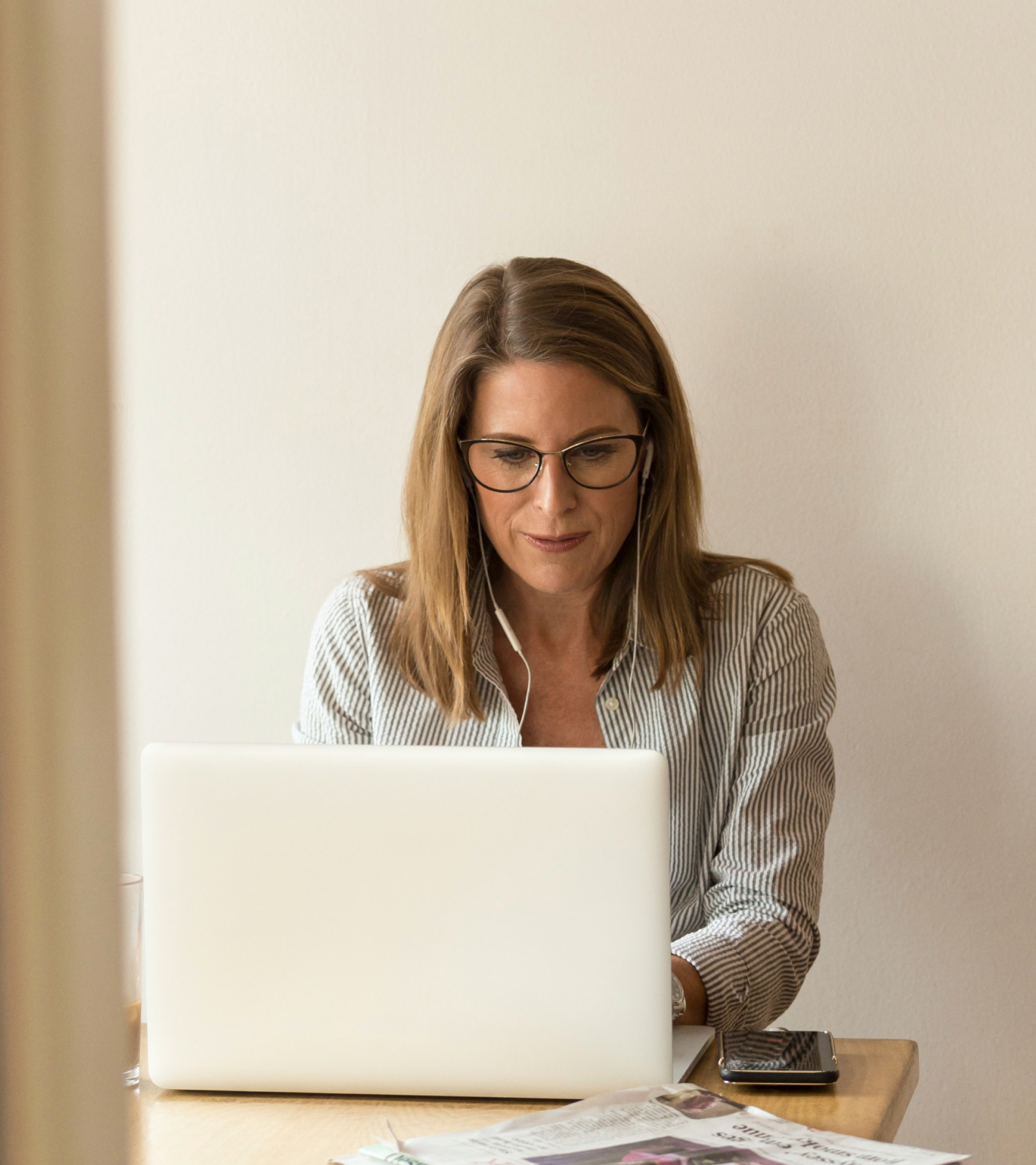 Office woman working