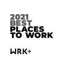 2021 Best Places To Work award