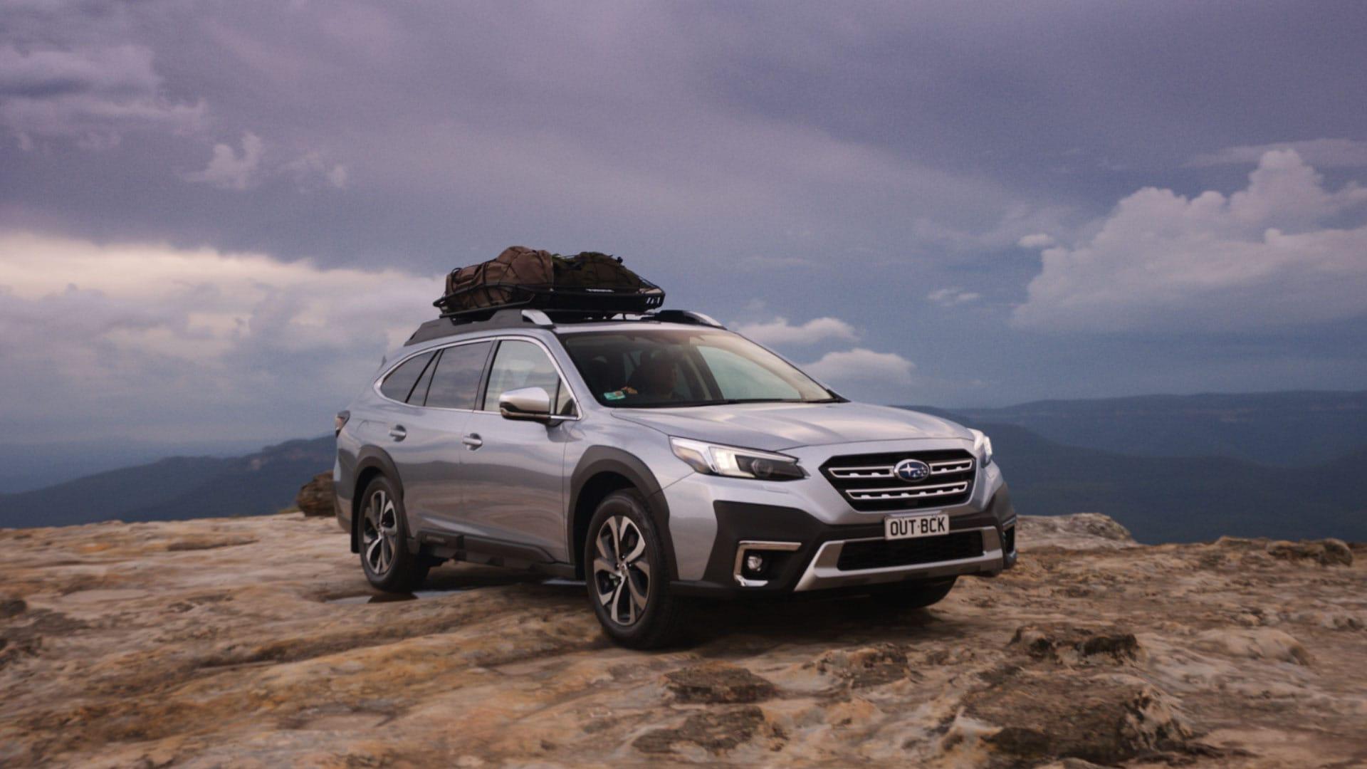 Subaru hero of the All-New All-Wheel Drive Subaru Outback