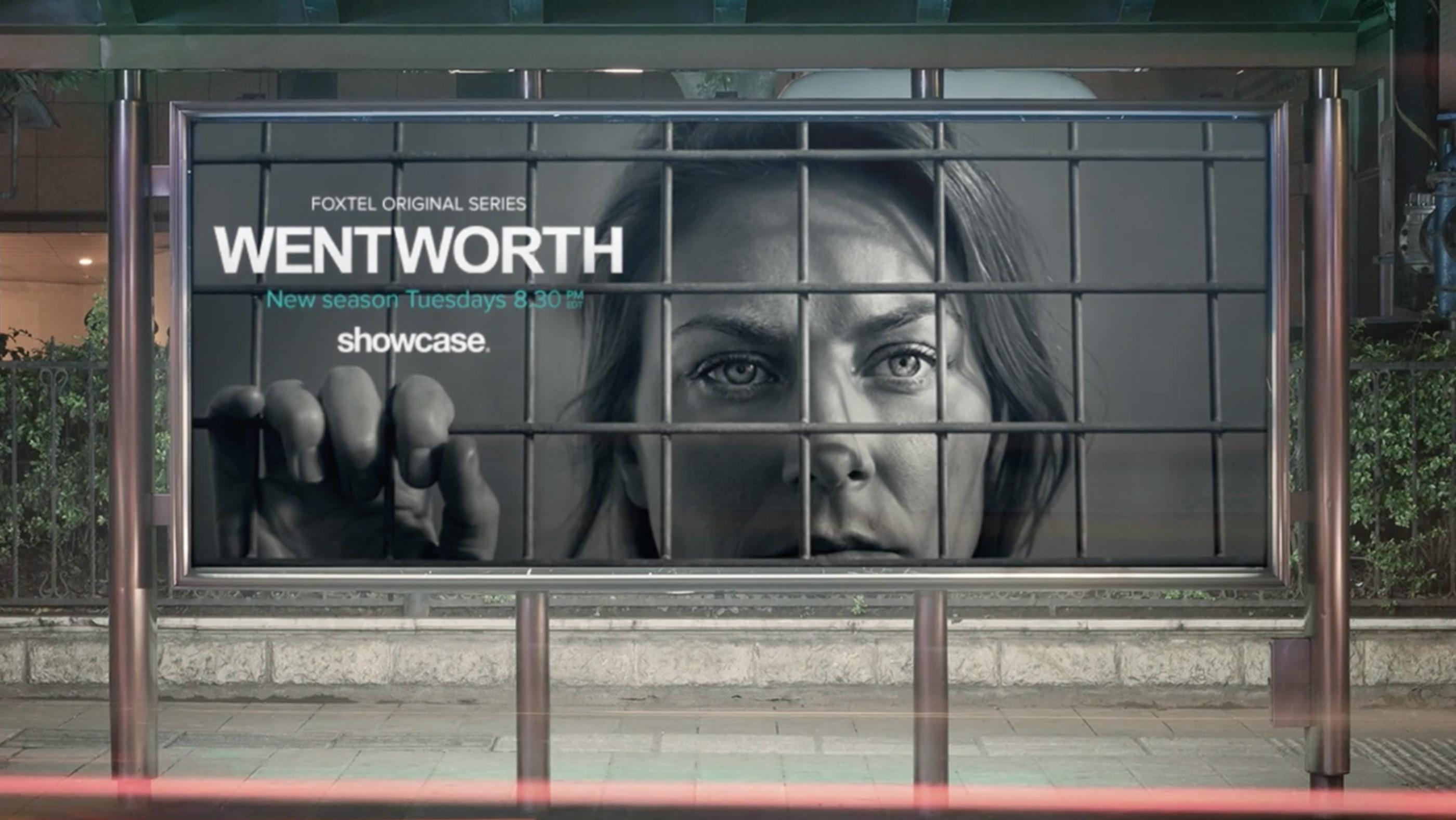 The Wentworth Rat hero of tv billboard