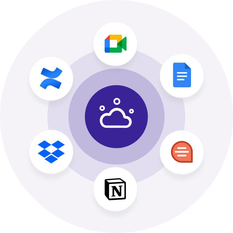 Tactiq saves transcripts from Google Meet to Quip, Notion, GDoc, Quip, Confluence