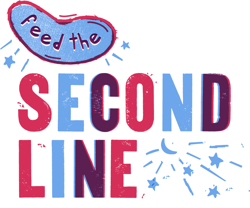 Logo for Feed the Second Line