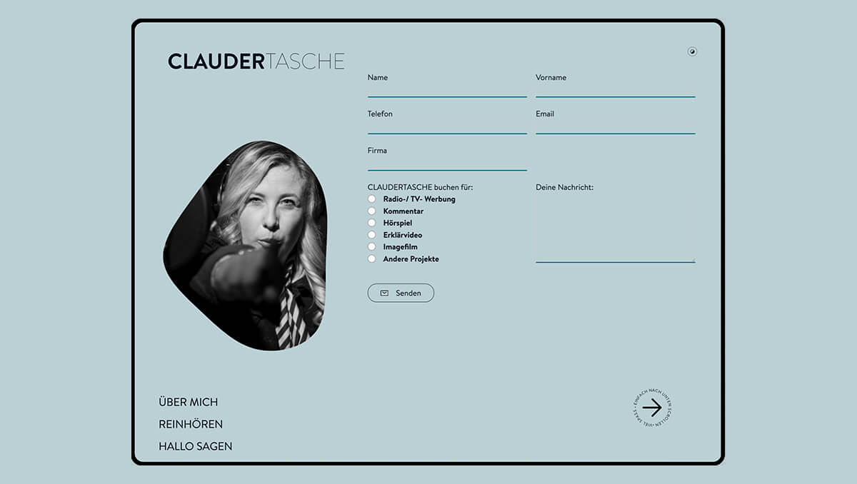 Claudertasche by Claudia Meier