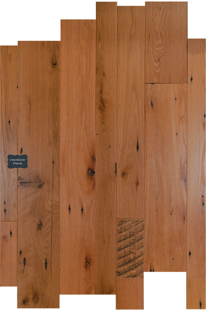 Cantilever Plank Reclaimed Wood Flooring. Our Reclaimed lineup is our premium quality product line with a unique and classic look