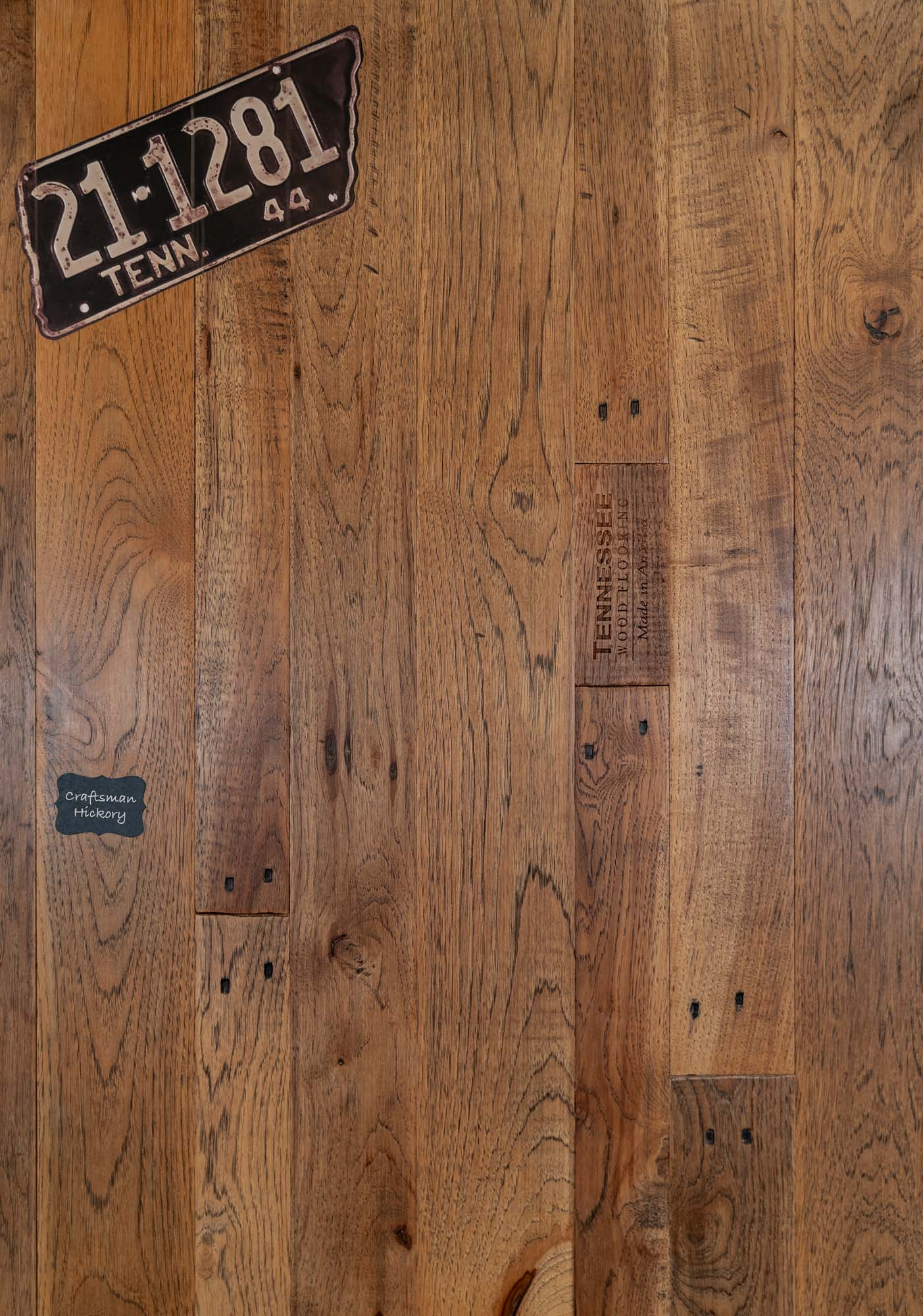 Craftsman Hickory Reclaimed Wood Flooring. Our Reclaimed lineup is our premium quality product line with a unique and classic look