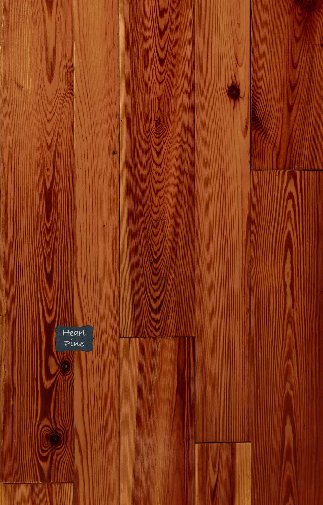 Hear Pine Reclaimed Wood Flooring. Our Reclaimed lineup is our premium quality product line with a unique and classic look