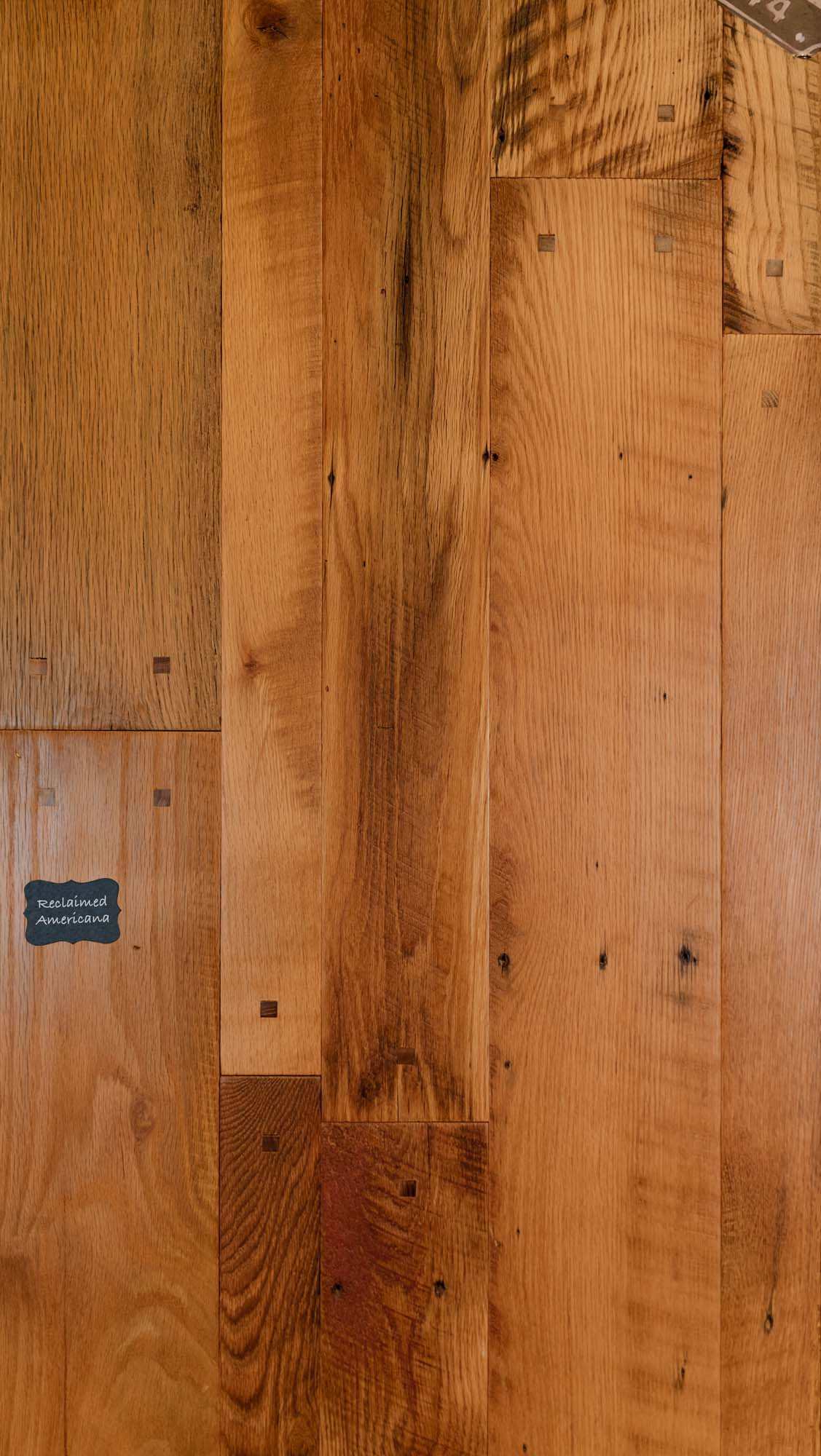 Reclaimed Americana Square Peg Wood Flooring. Our Reclaimed lineup is our premium quality product line with a unique and classic look