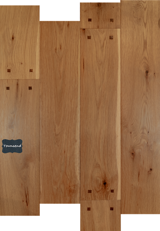 Townsend Reclaimed White Oak Wood Flooring. Our Reclaimed lineup is our premium quality product line with a unique and classic look