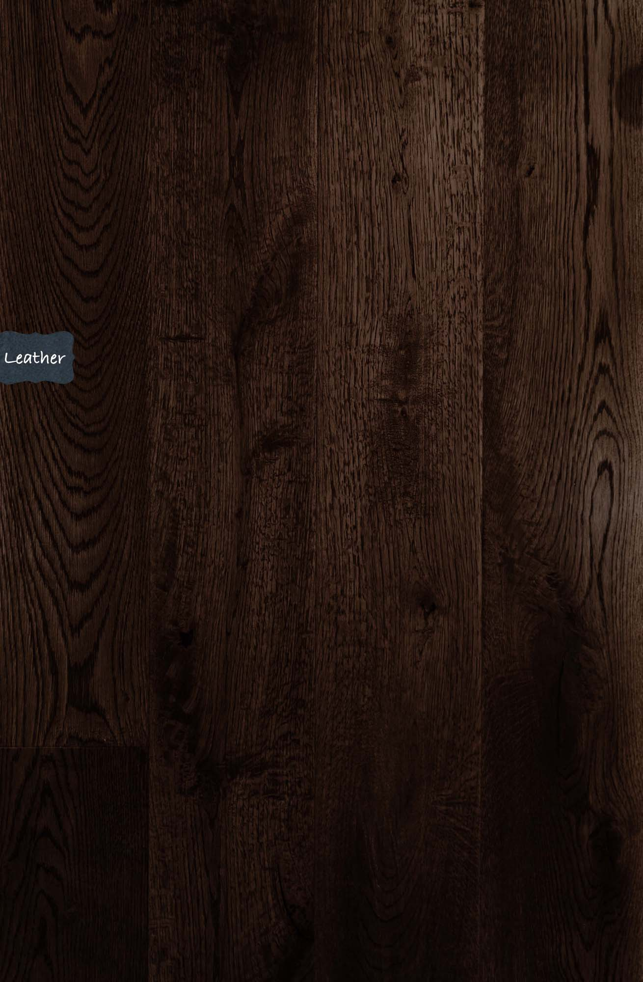 Leather Live Sawn White Oak Wood Flooring. Leather is one of our classic custom wood flooring options at Tennessee Wood Flooring
