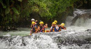 Rafting in Okere Falls Rotorua