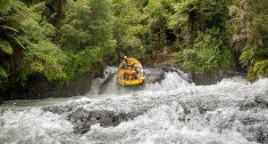 Rafting on the Kaituna