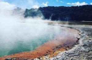 Wai-O-Tapu geothermal Rotorua
