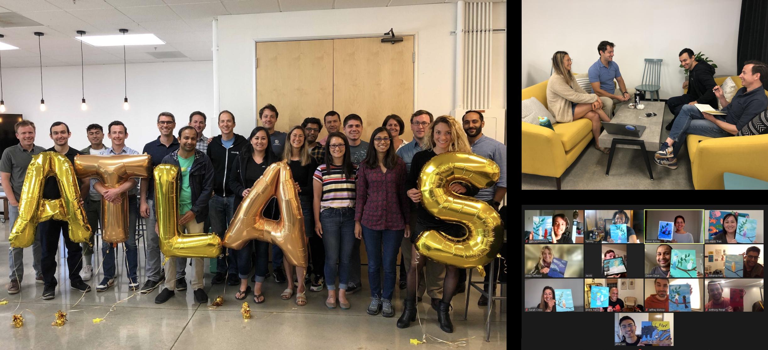 Atlas AI team offsite group images