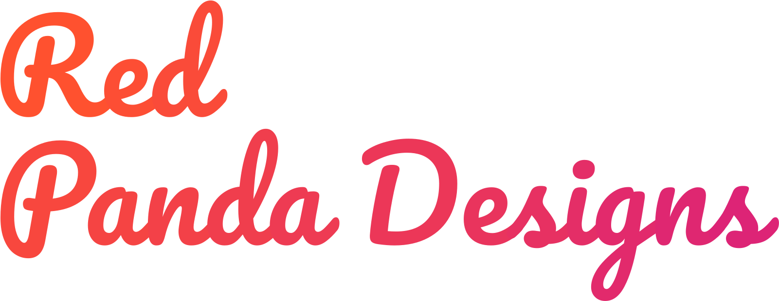 Red Panda Designs Logo