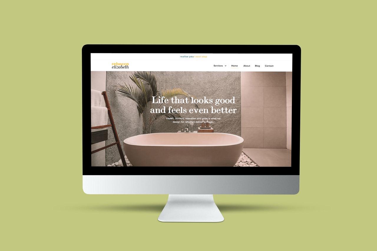 Rebecca Elizabeth Site Example