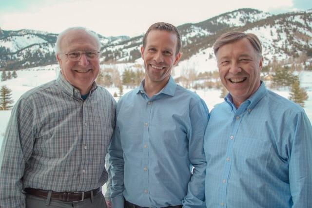 Luke Mauritsen, Mike Simmons, and Ron Sager