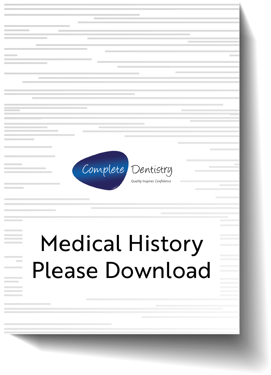 Medical History - Please Download