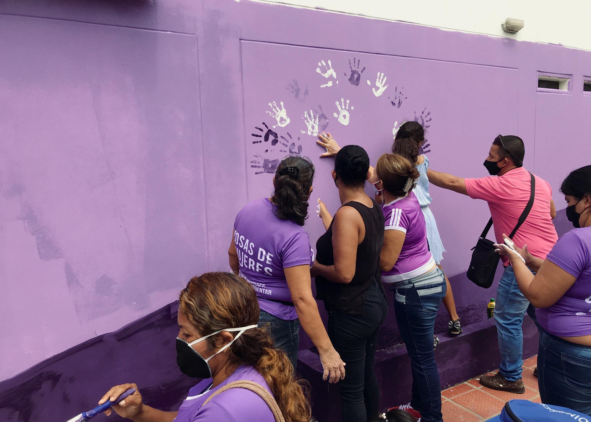 Cosas de Mujeres community activity. © Julia Zulver