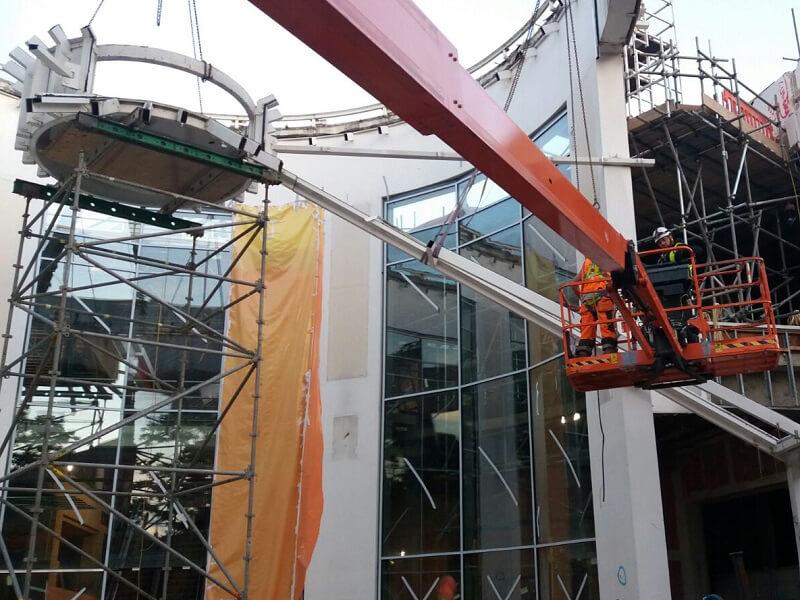 Demolition & Glass Removal