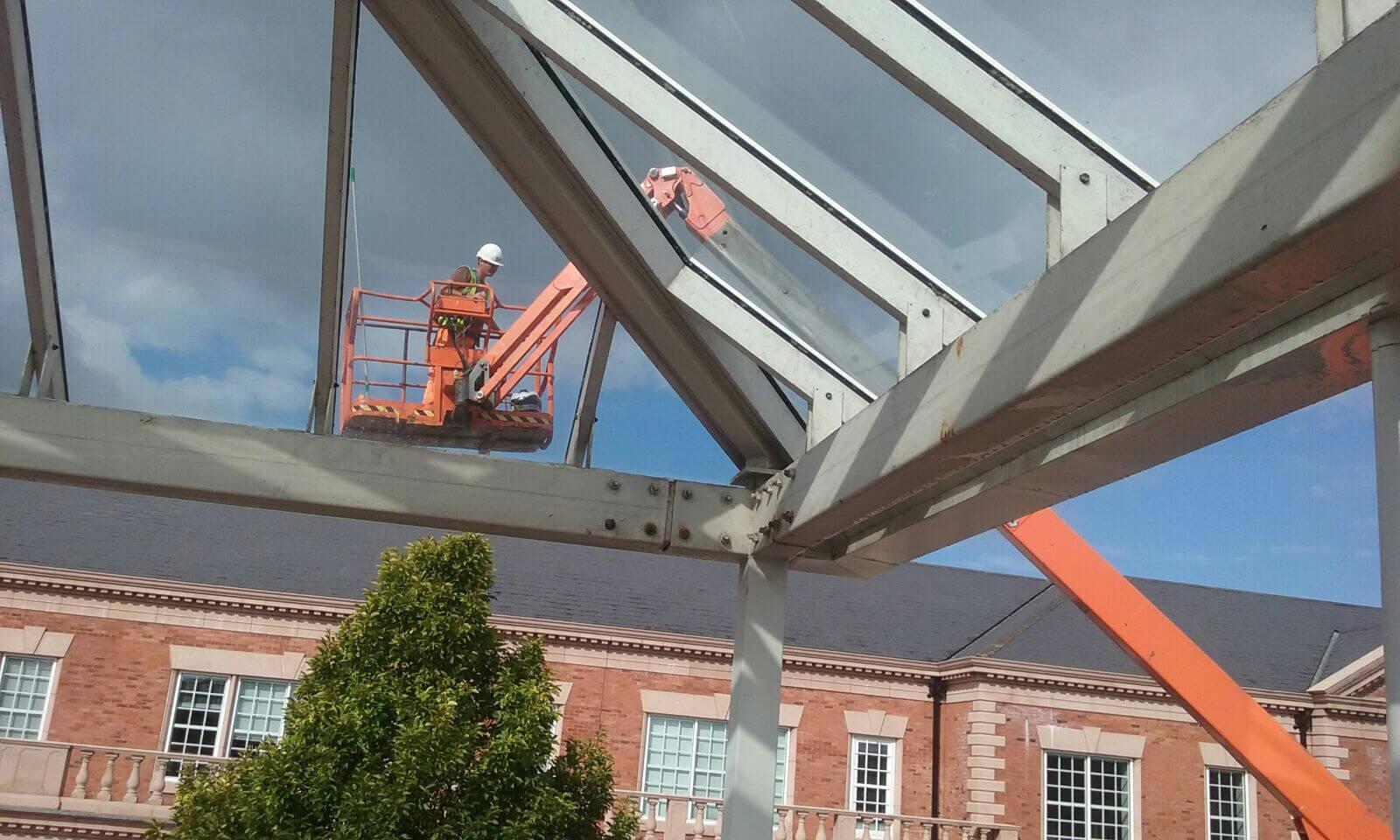 Glazed Canopy Works
