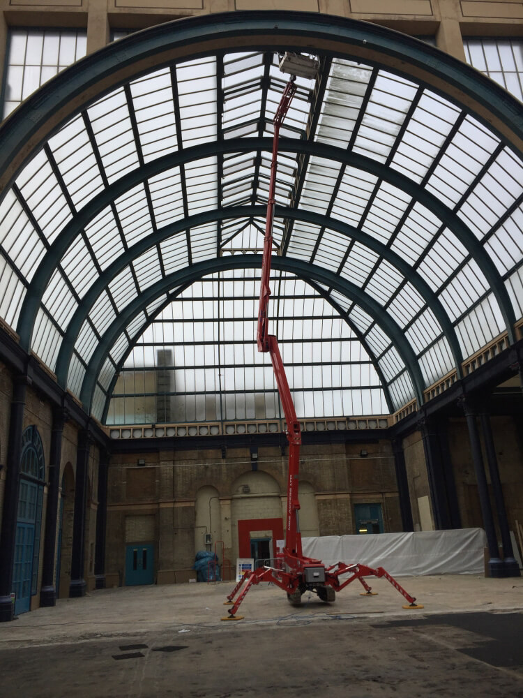 Dilapidation inspection of an iconic grade II listed sports and entertainment venue
