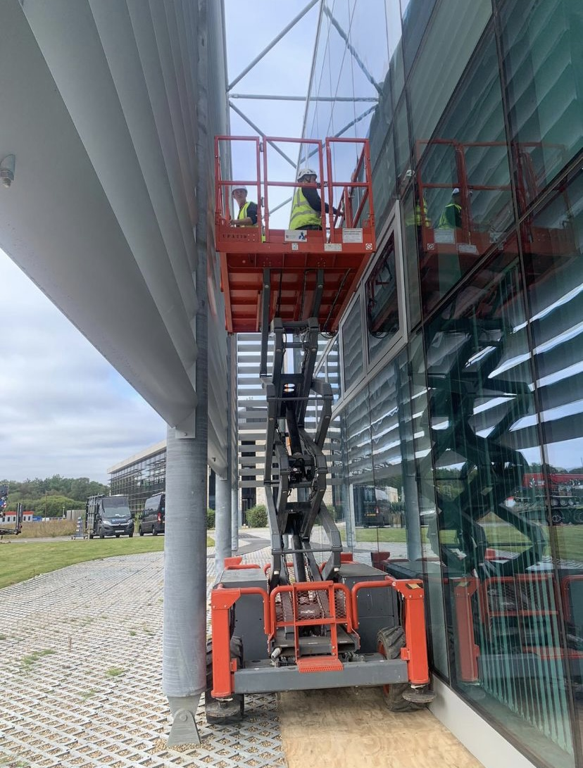 Internal and External Envelope upgrade for Biosafety Facility