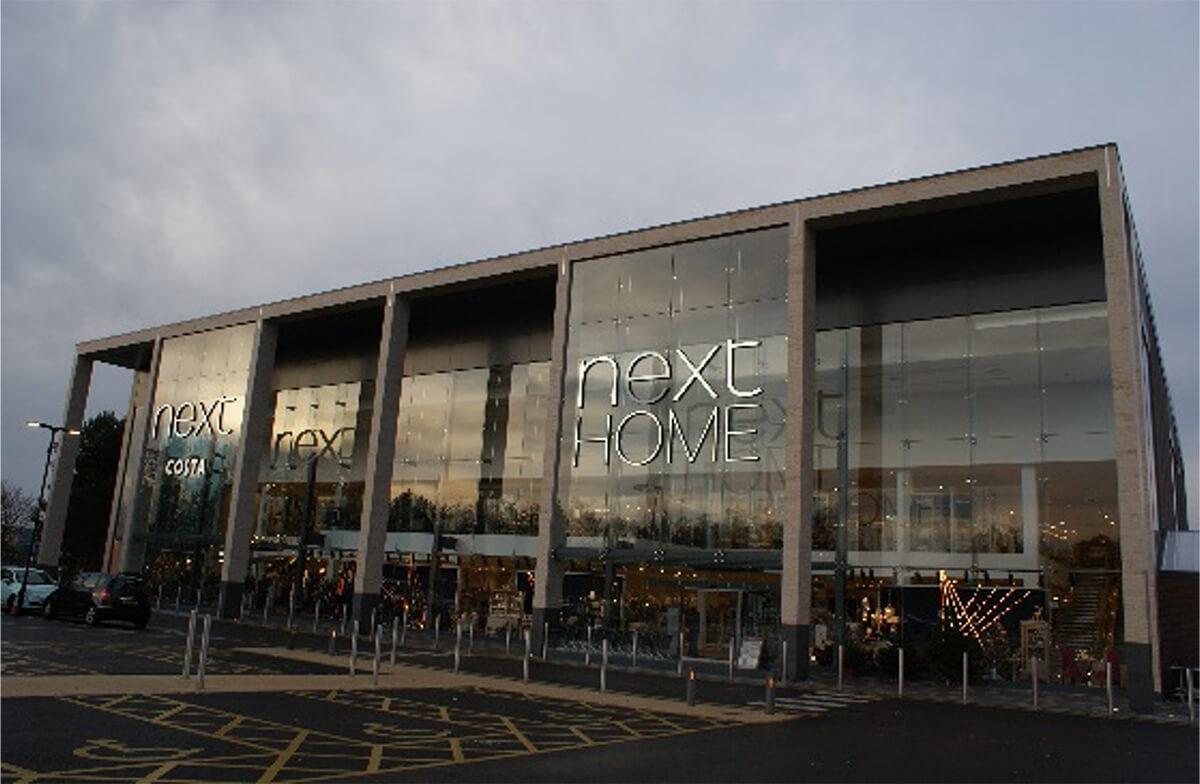 Next Supermarket Glazing Wall