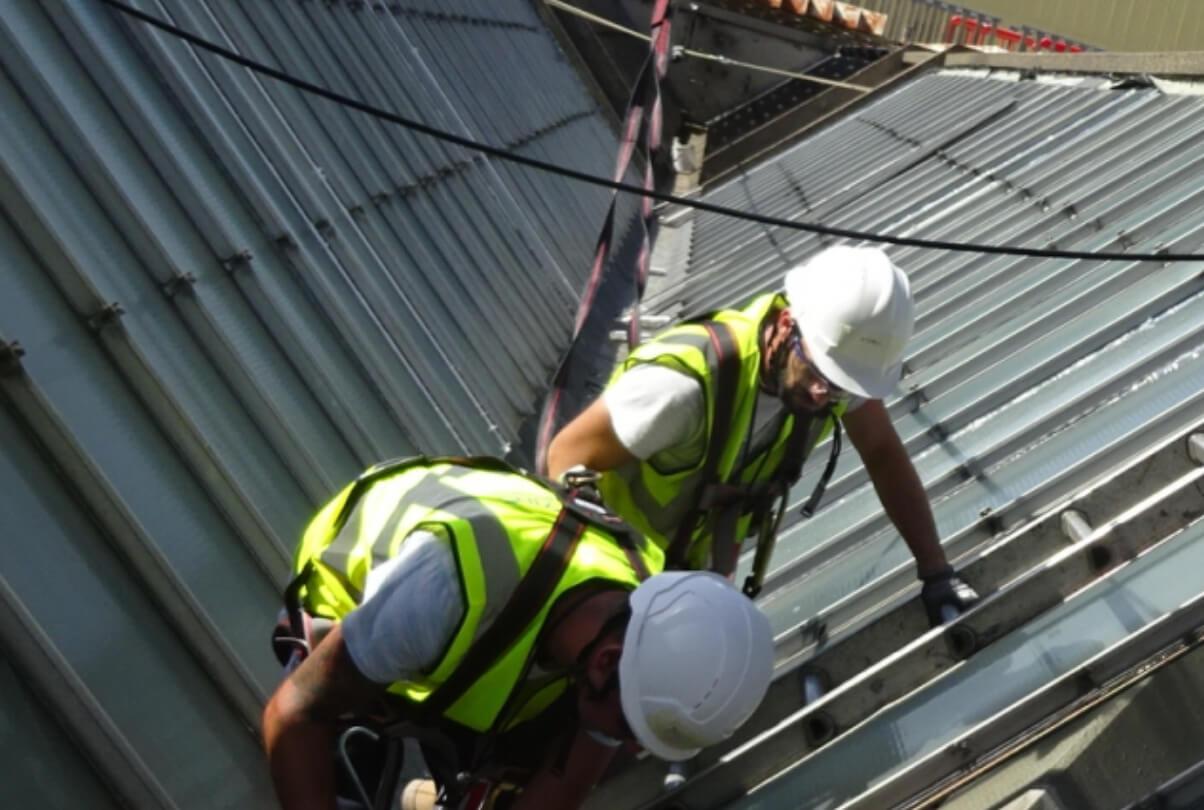 Glazing Refurbishment Staff