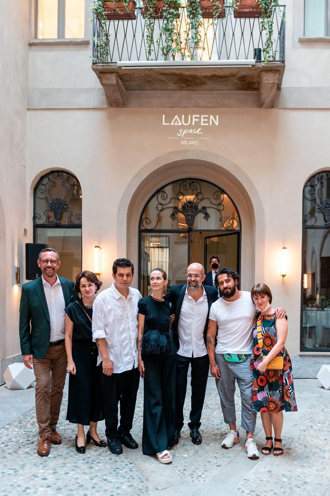 Group picture of Roger Furrer, Tatiana Kharchenko, Serdar Yanikov, Grazia Vanuzzo, Antonio Linares, Max Kasymov and Kseinia Rudkovskaya.