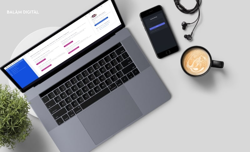 Portal de clientes de Balam Digital, agencia de diseño y desarrollo web especializada en Webflow.