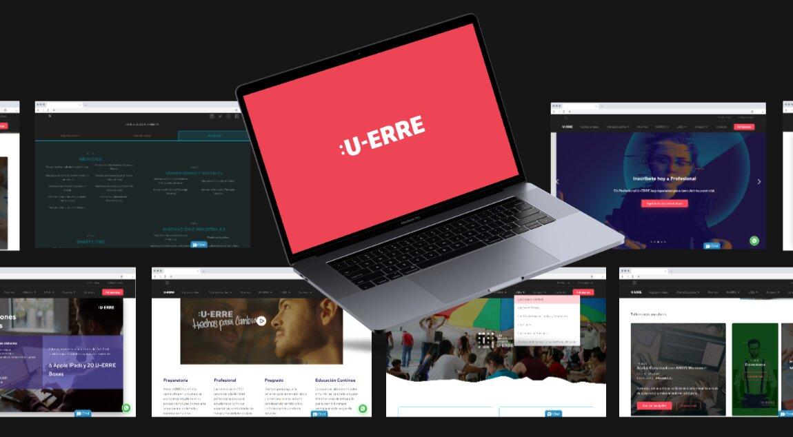 Proyecto de diseño y desarrollo web para Universidad Regiomontana