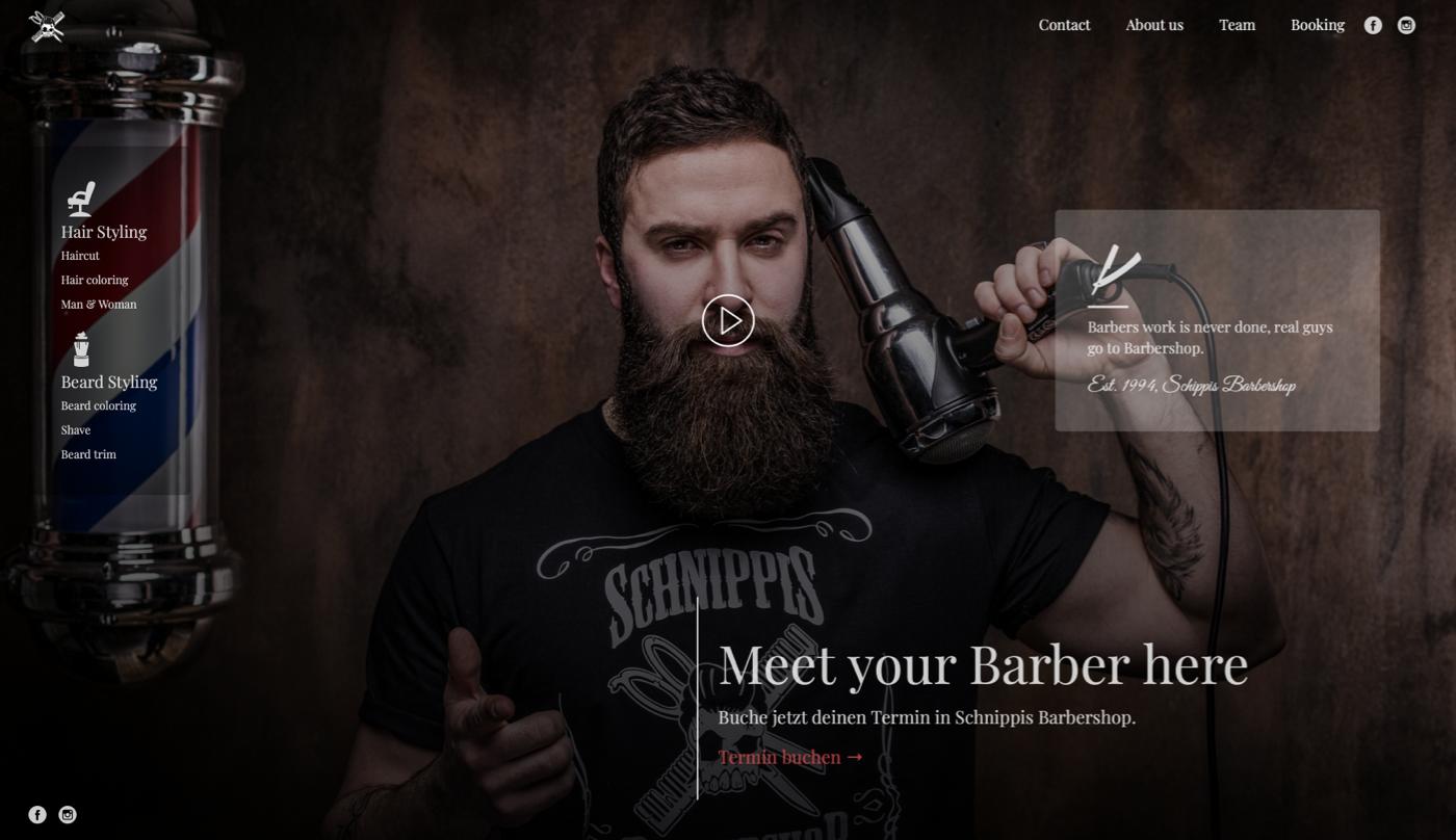 Portfolio - Schnipp Schnapp Barbershop GmbH Herten