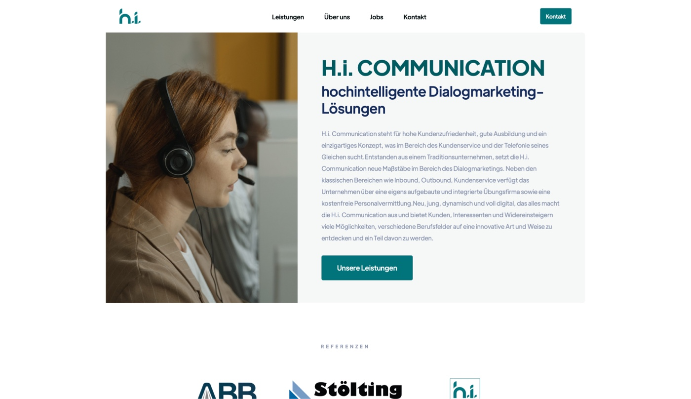 Portfolio - H.i Communication