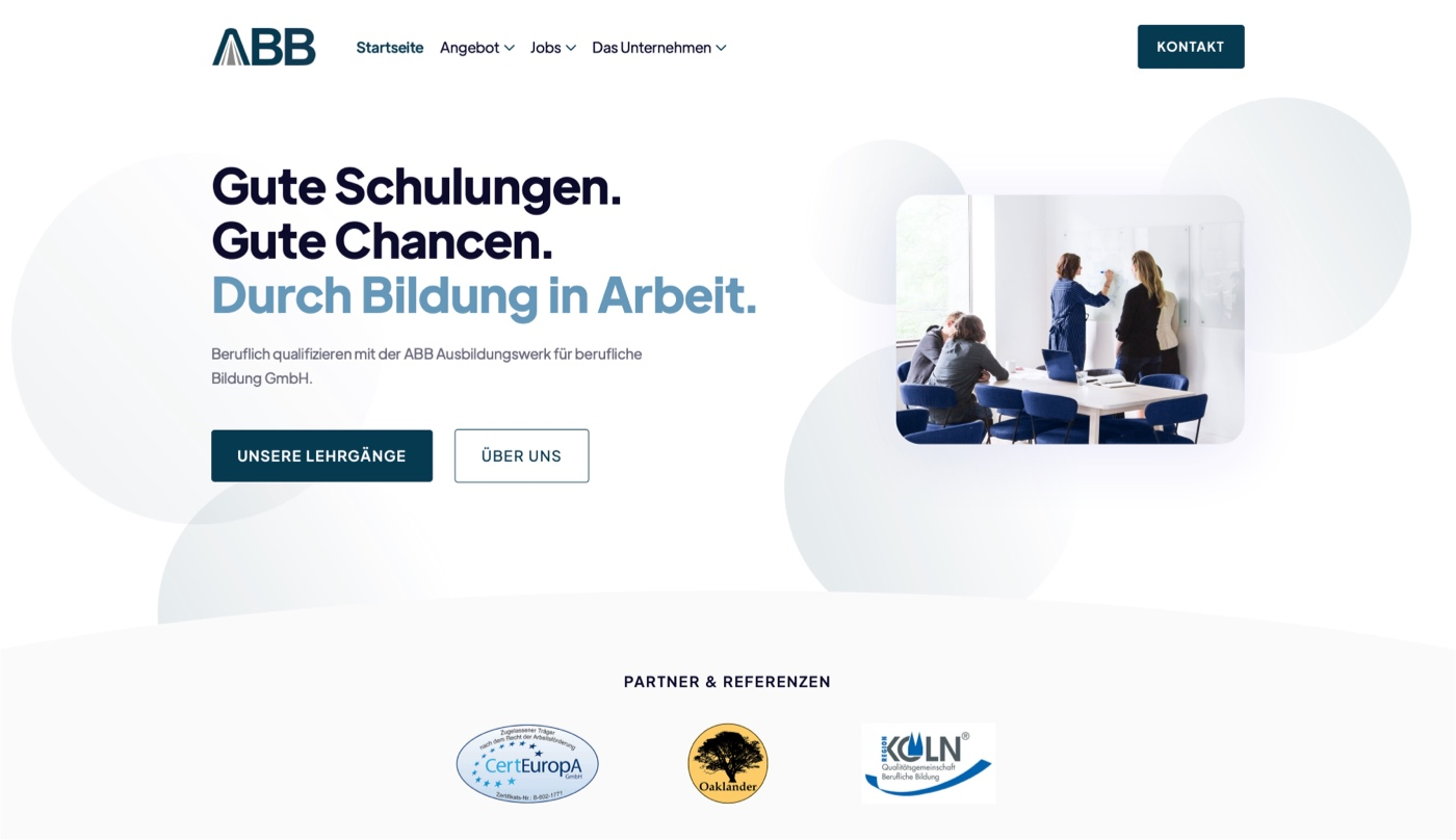 Portfolio - Ausbildungswerk für Berufliche Bildung GmbH