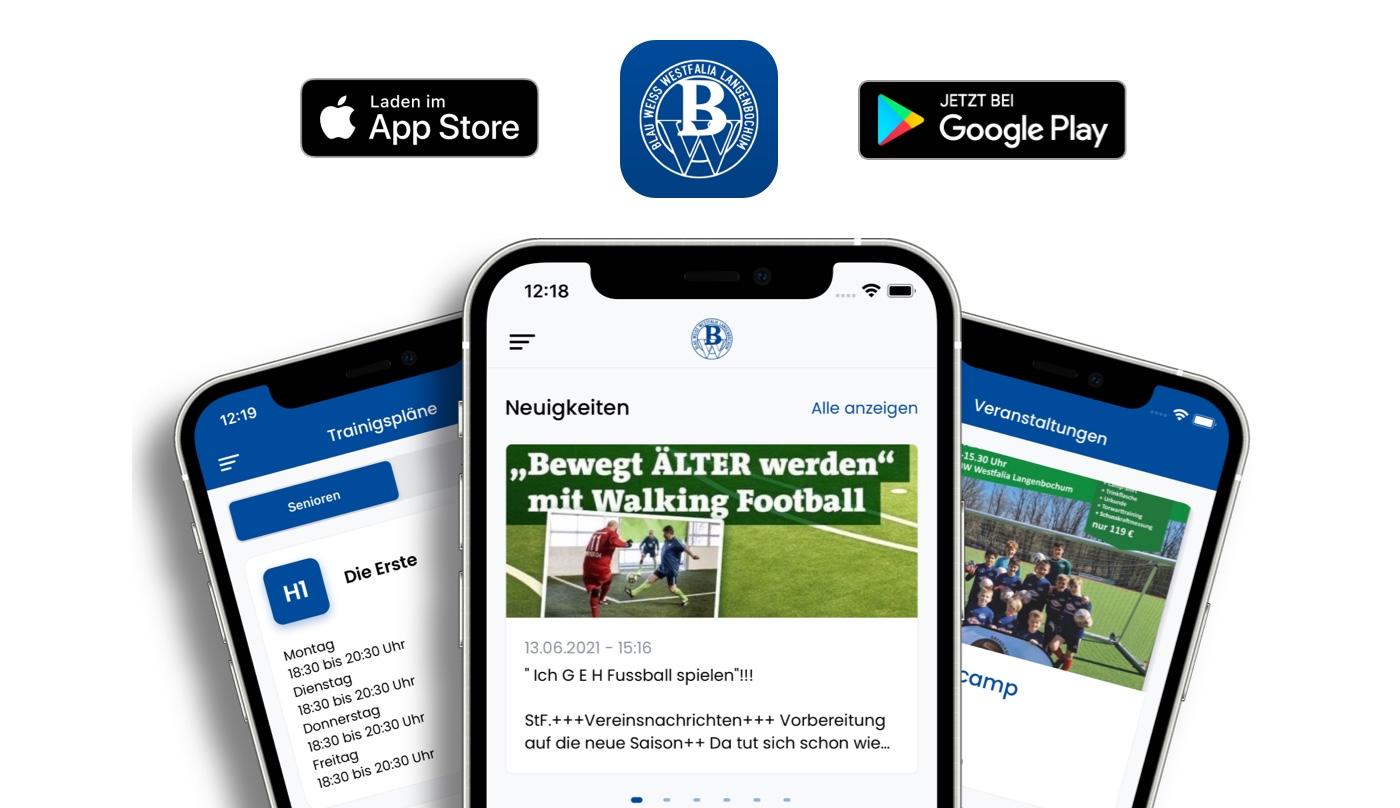 Blau Weiß Westfalia Langenbochum App