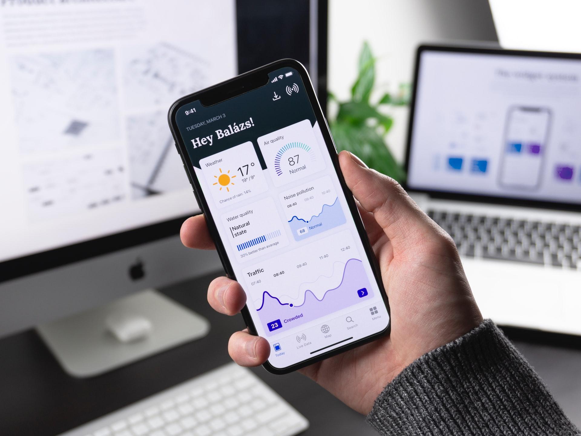 Mobile Anwendungen für Smartphone und Tablet Cover