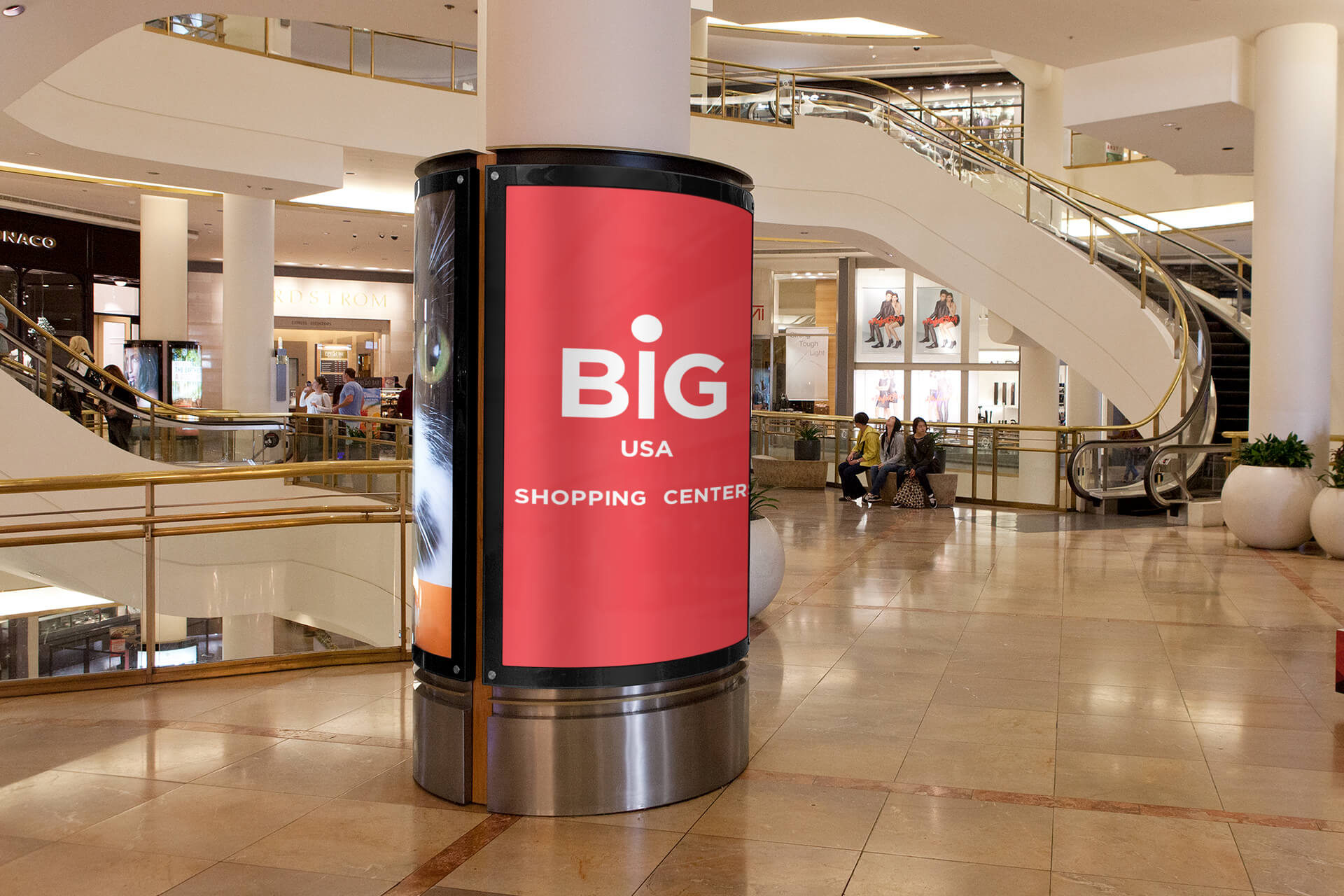 Big Red Shopping Centers USA