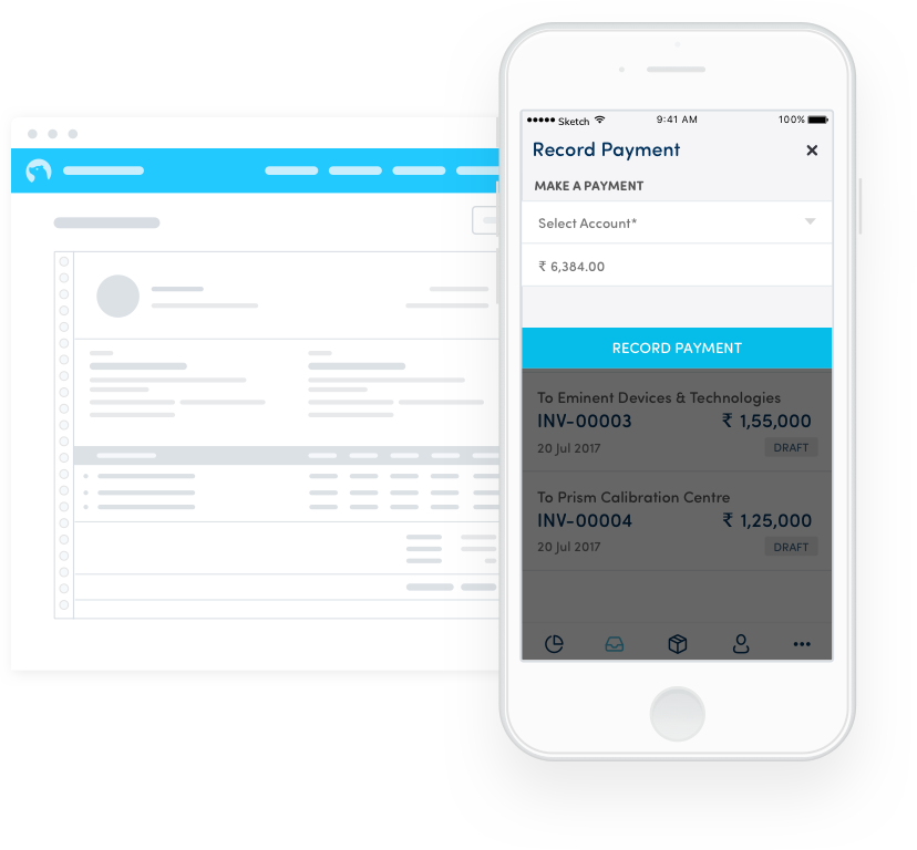 Manage your Payments for Invoice