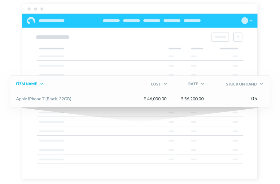 Manage & Track Stock Easily