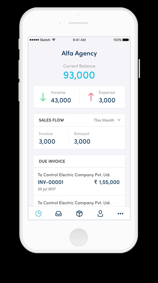 Bearbuk's accounting app