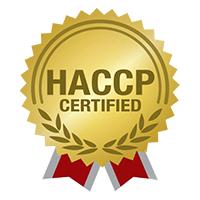 UBL HACCP certification