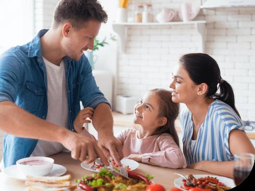Family Using Probiotics in Foods and beverage   Unique Biotech