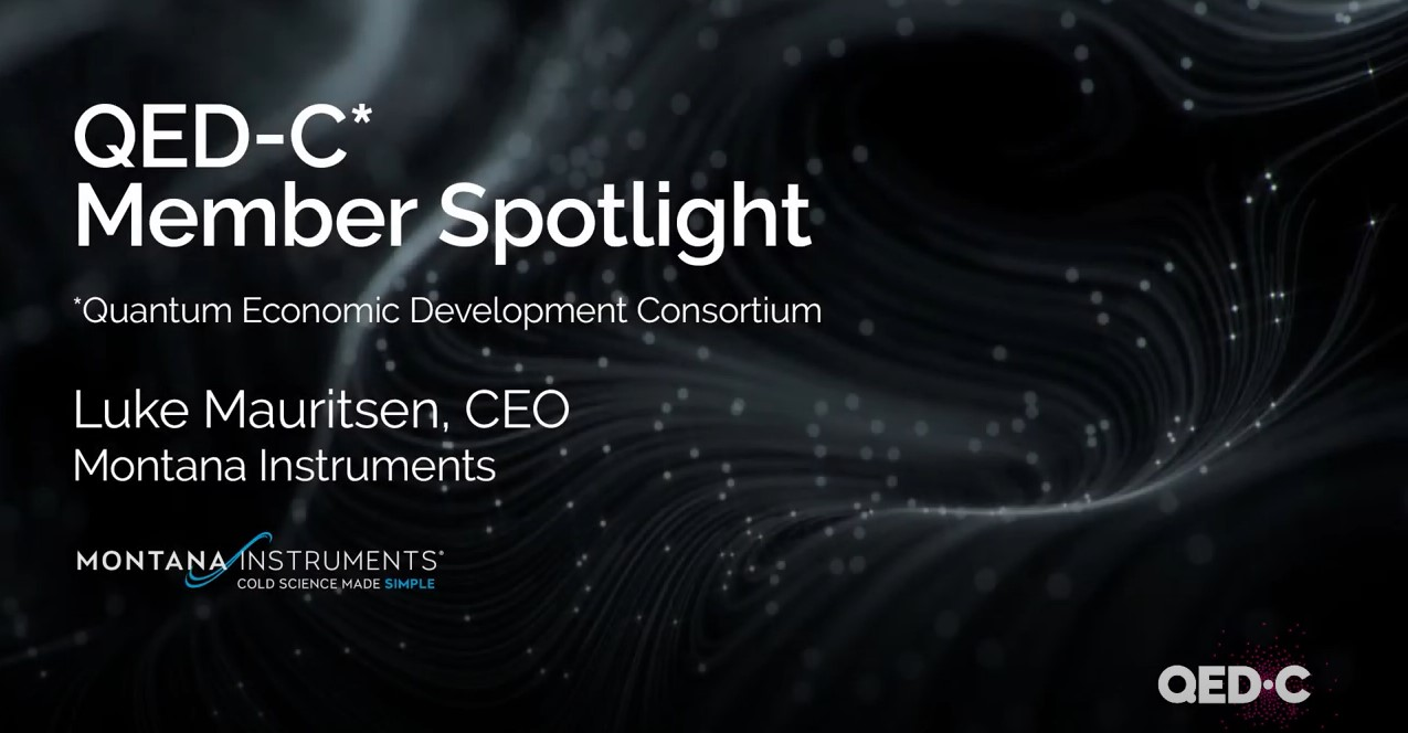 QED-C Member Spotlight: Montana Instruments